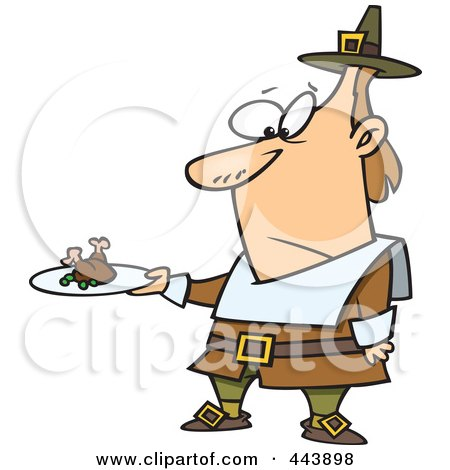 450x470 Pilgrim Man Clipart Front And Back Collection