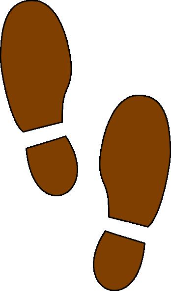 348x593 Shoe Print Clip Art