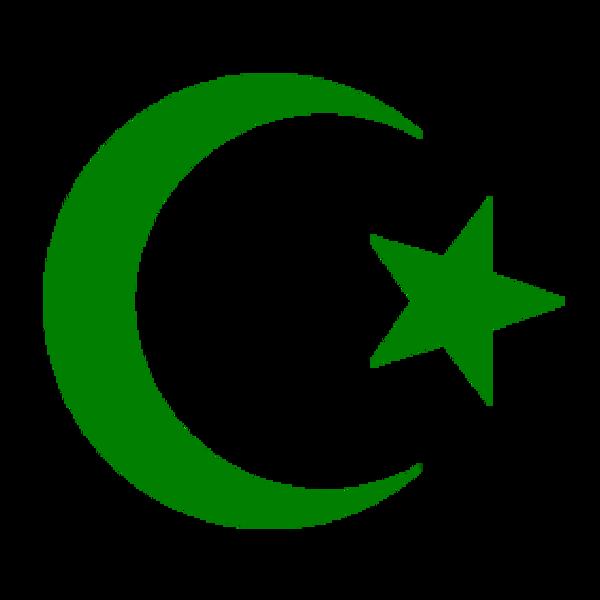 600x600 Moon Clipart Islamic