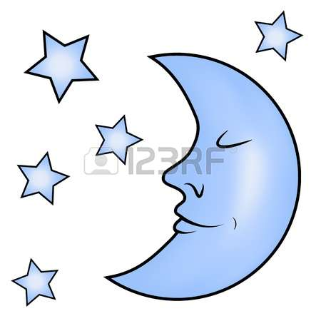 450x450 Stars And Moon Clipart Gallery Images)