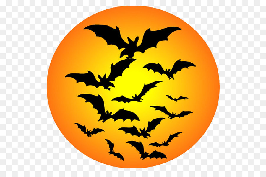 900x600 Halloween Bat Clip Art