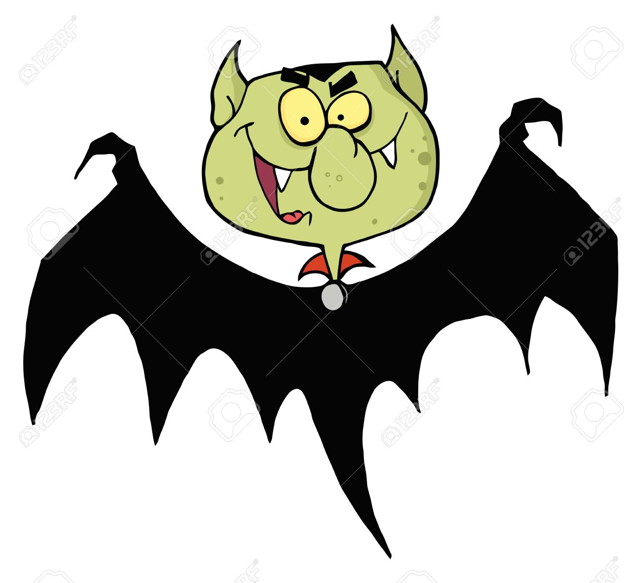 1300x1181 Last Chance Vampire Bat Cartoon Vector Illustration Of A Halloween