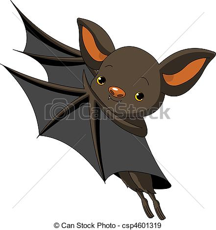 441x470 Halloween Bat Presenting. Cute Cartoon Halloween Bat Eps