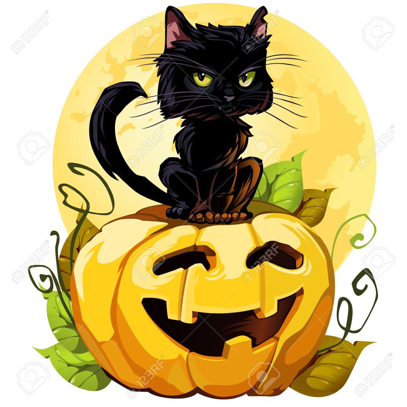 1299x1300 Halloween Black Cat Pictures Free Download Clip Art