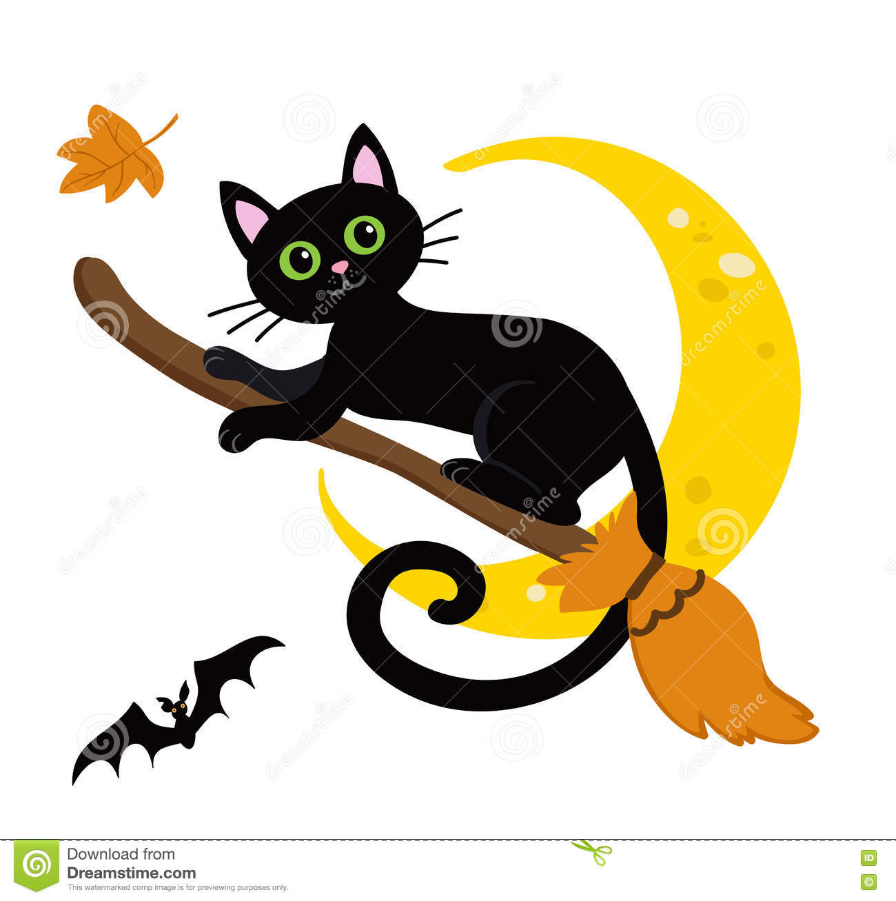 1300x1307 Sweet Looking Halloween Cat Clipart Outline Silhouette Clip Art