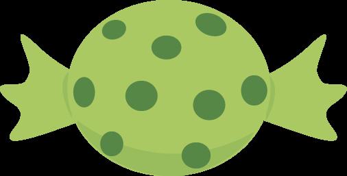 506x257 Green Halloween Candy Clip Art