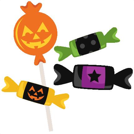 432x432 Halloween Candy Svg Scrapbook Cut File Cute Clipart Files