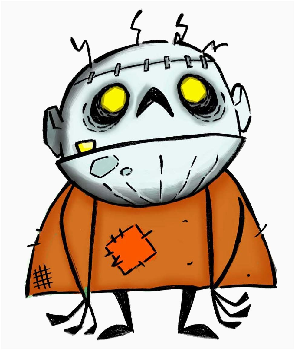 975x1160 Free Clipart Characters Elegant Halloween Cartoon Characters Clip
