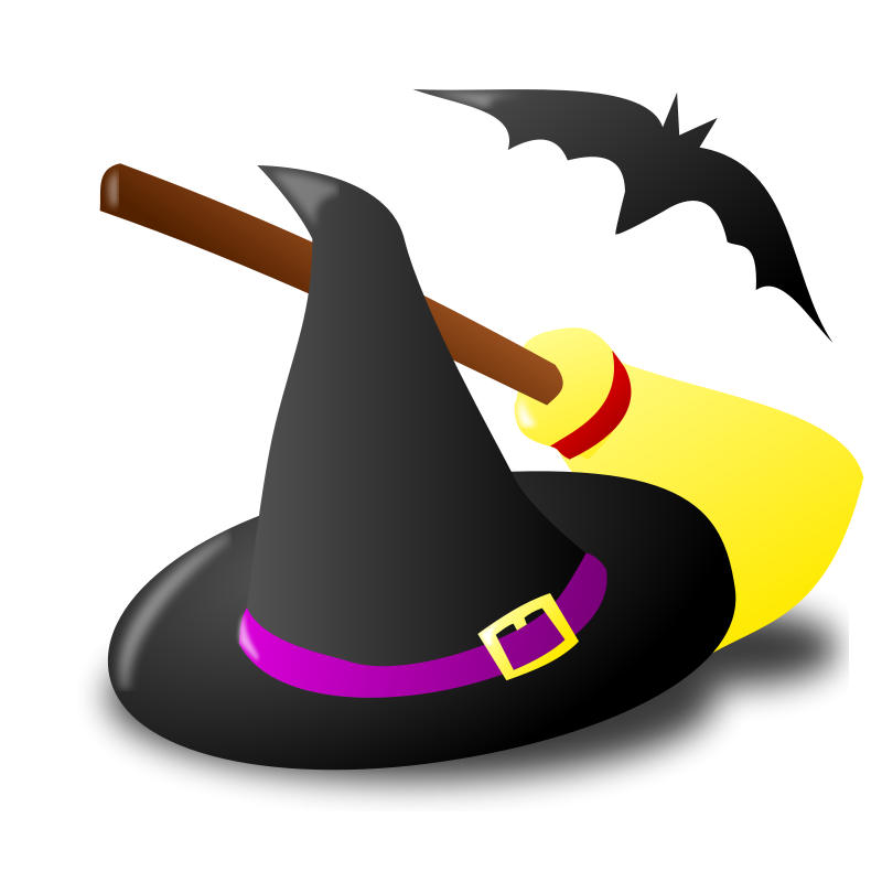 800x800 Graphics Of Halloween Witches And Sorceress Clip Art