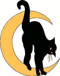 234x293 Free Black Cat Clipart