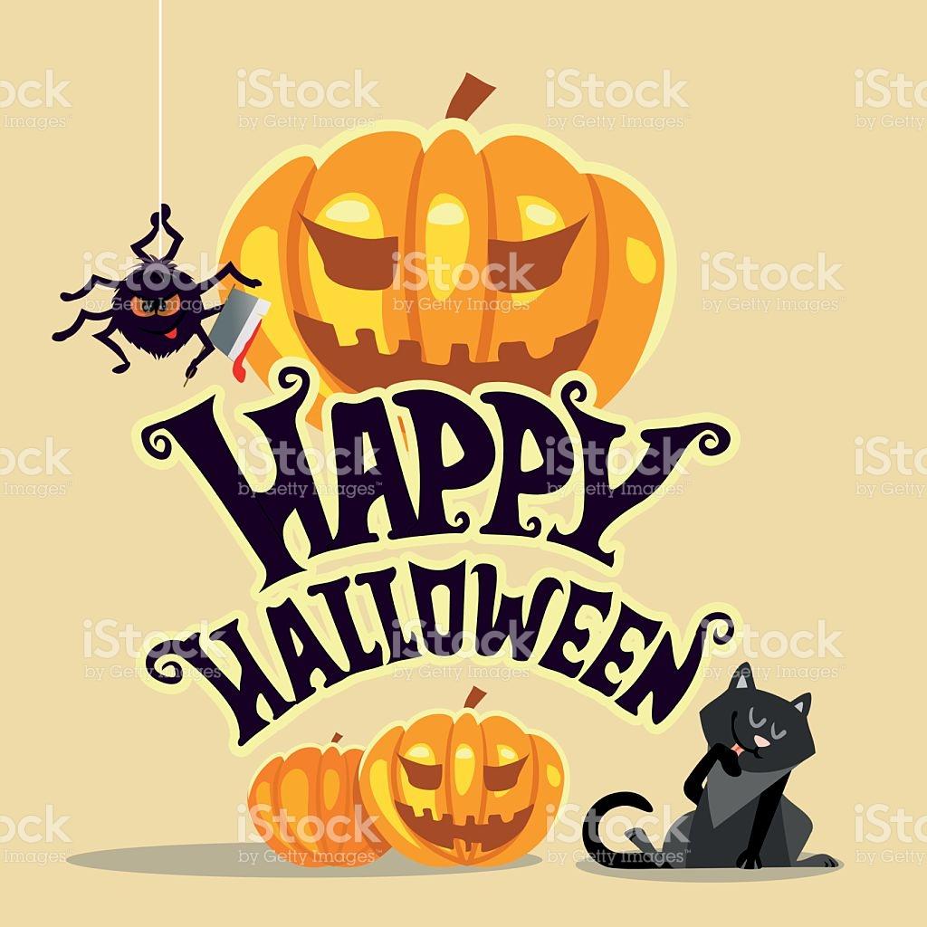 1024x1024 Black Cat Clipart Halloween Banner