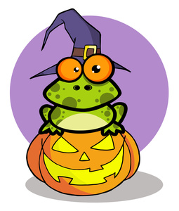 255x300 Free Halloween Clipart Image 0521 1010 2412 4052 Frog Clipart