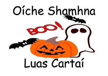 350x247 Common Words Associated With Halloween In Irish, Gaeilge, As