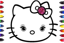 273x183 Free Hello Kitty Coloring Pages Online For Adults To Print