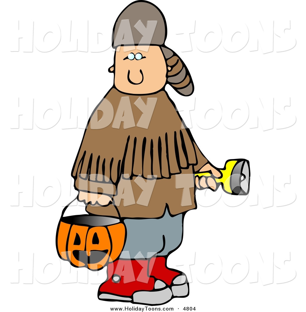 1024x1044 Royalty Free Holiday Clipart Of A Caucasian Boy Wearing Halloween