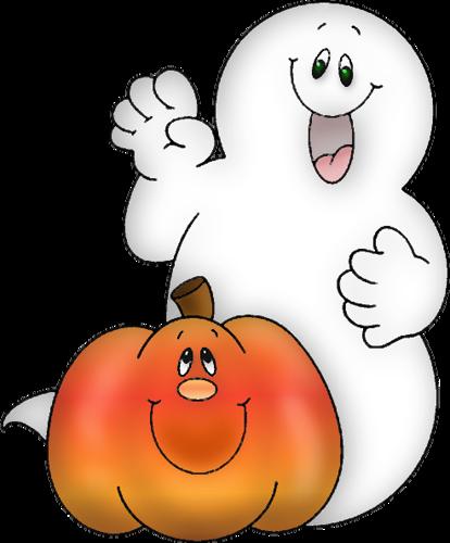 414x500 Halloween Ghost Clip Art