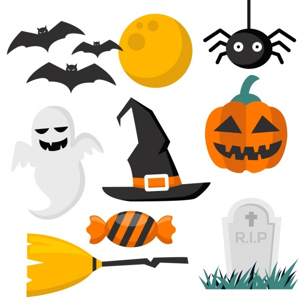626x626 Halloween Vectors, +10,800 Free Files In Ai, Eps Format
