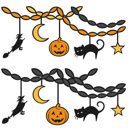 432x432 Collection Of Halloween Decorations Clipart High Quality