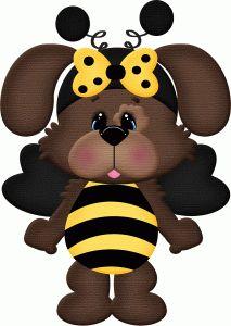 213x300 Bee Clipart Halloween