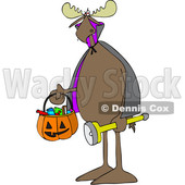 170x170 Boy Wearing Halloween Frankenstein Monster Costume While Trick