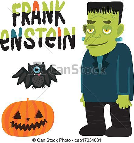 442x470 Halloween Character Frankenstein With. Halloween Character