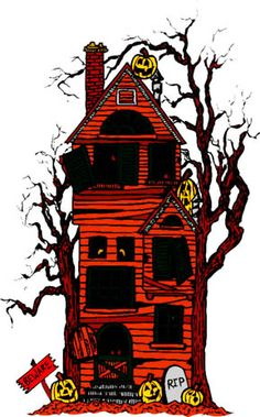 236x379 Haunted House Clip Art Another Animated Haunted House