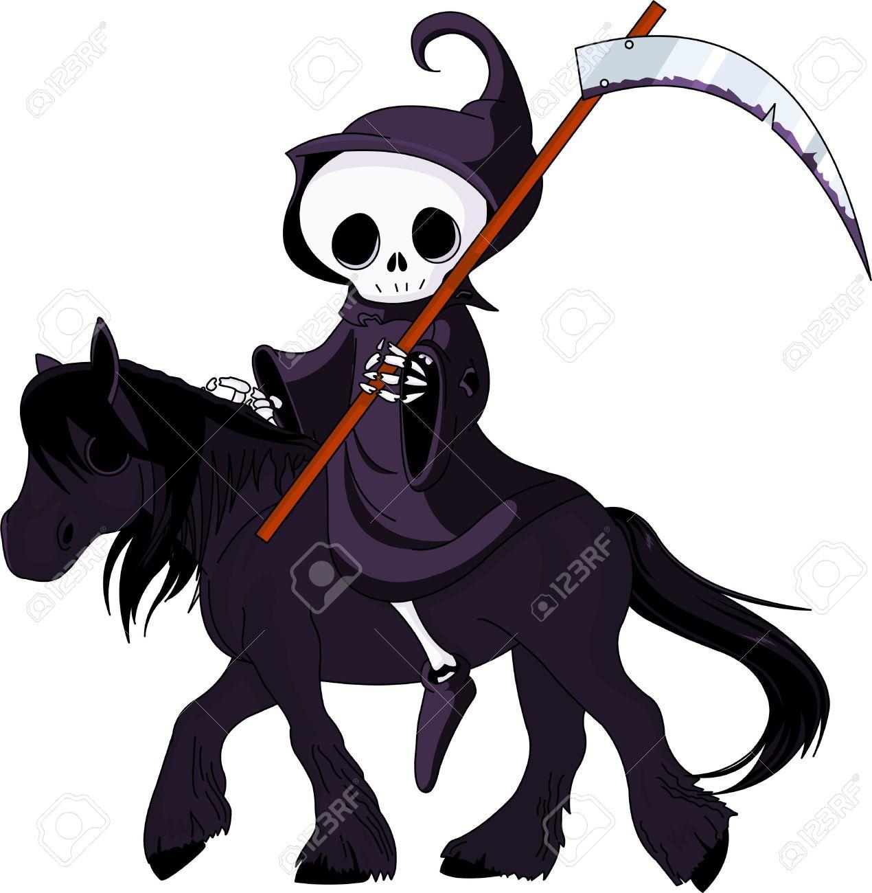 Halloween Horse Clipart