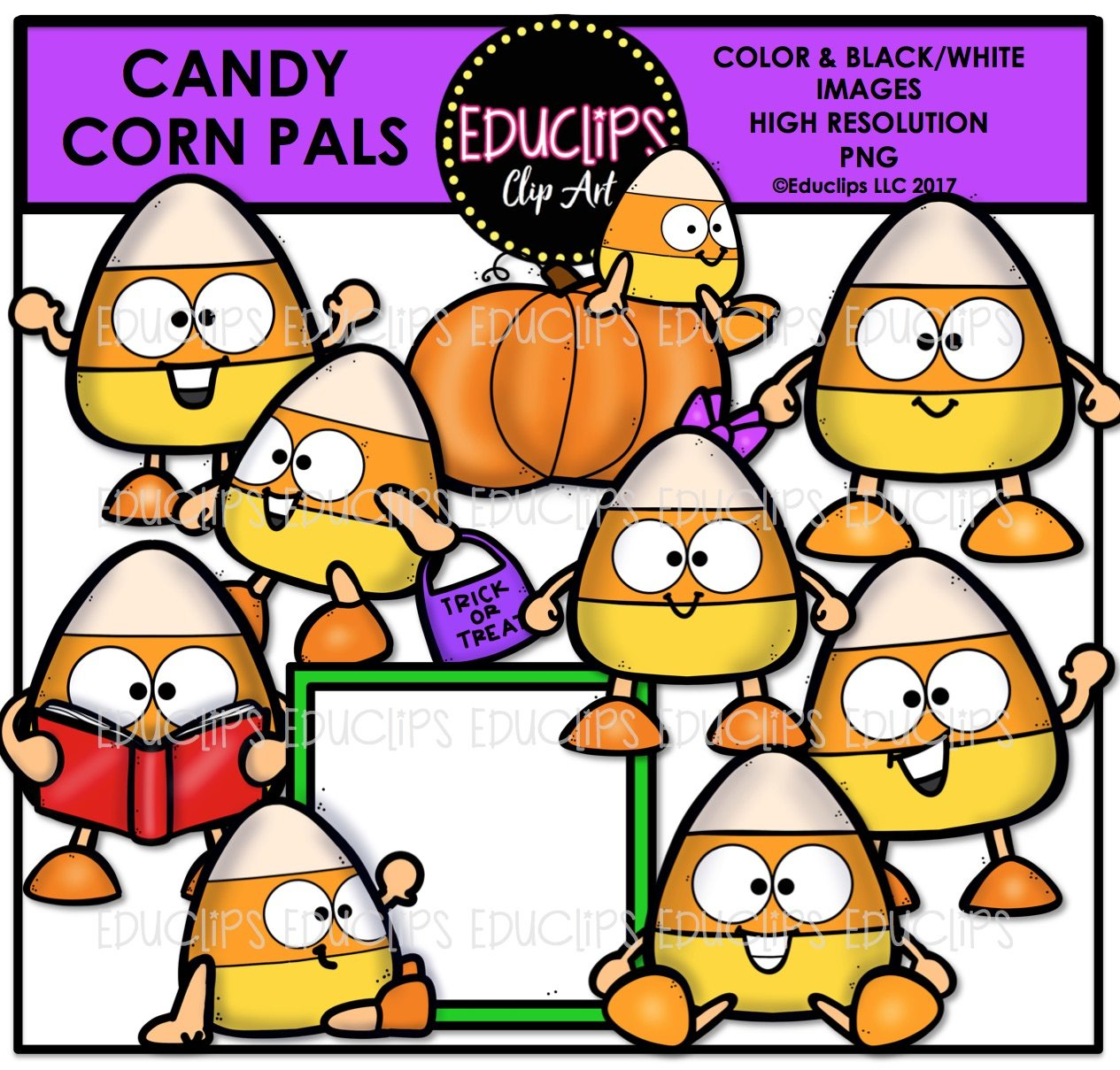 1265x1209 Halloween Clip Art Ultra Bundle (Color And Bampw)