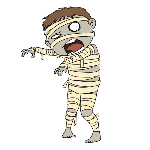 Halloween Mummy Clipart