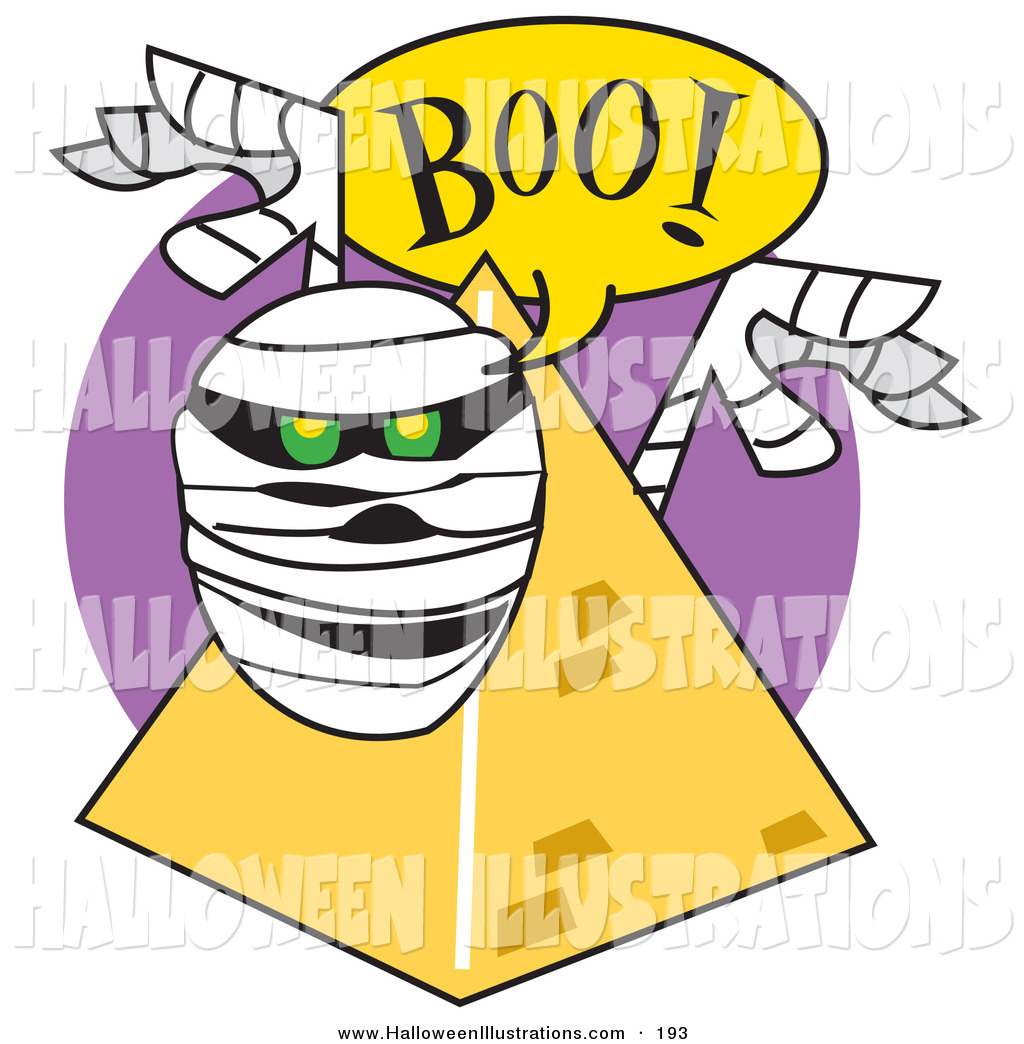 1024x1044 Halloween Cliprt Of White Mummy Popping Out From Behind