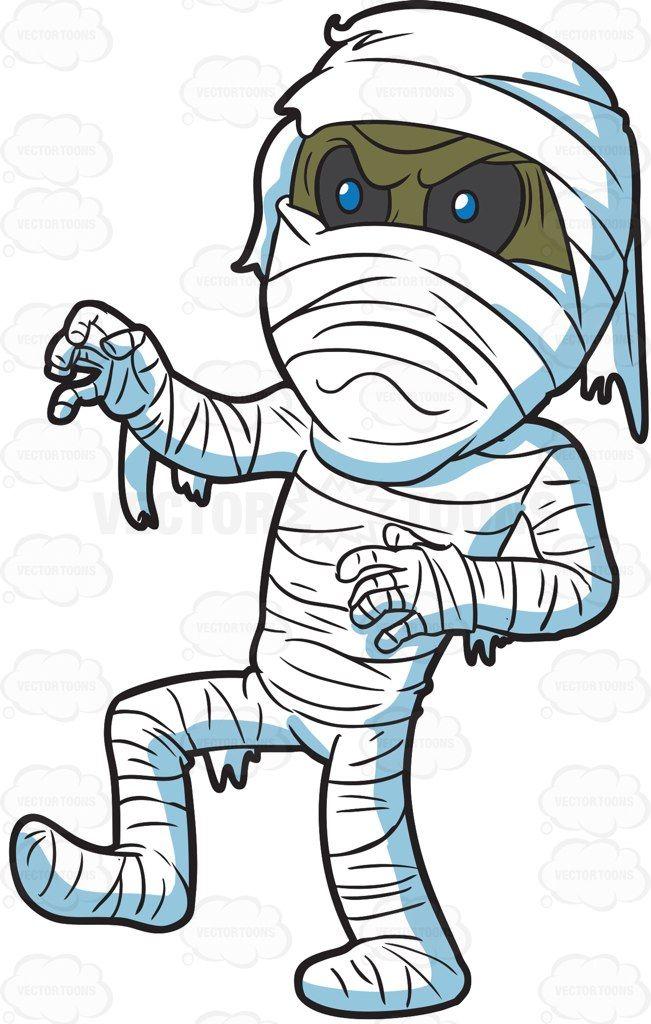 651x1024 An Angry Mummy Cartoon, Graffiti And Illustrators