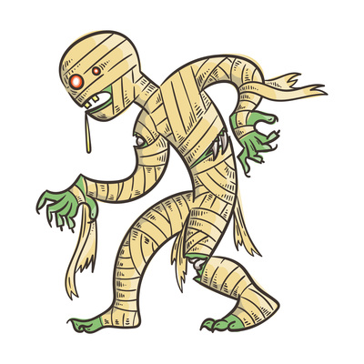 400x400 Mummy On Curated Vector Illustrations, Stock Royalty Free Images