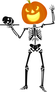 181x300 Halloween Skeleton Clipart Halloween Skeleton Clip Art