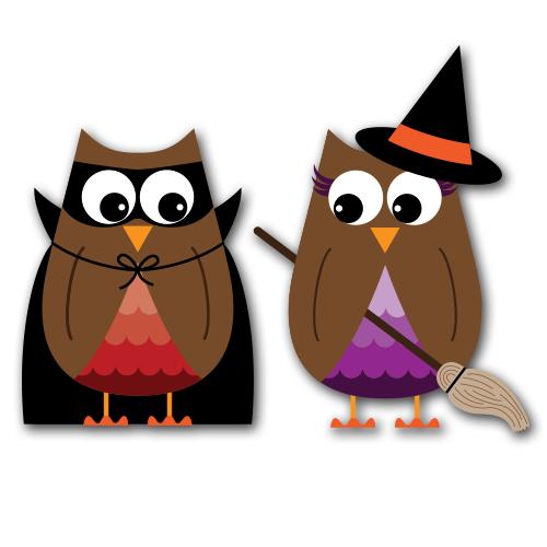 500x500 Halloween Owl Clipart Fun For Christmas