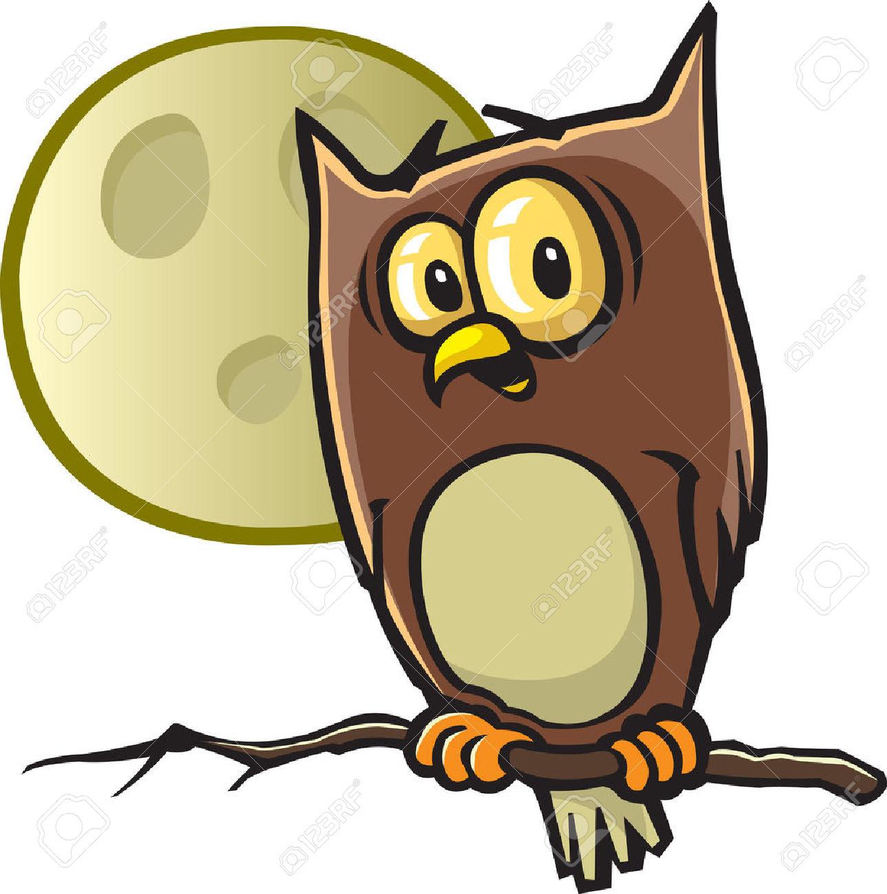 1289x1300 Horned Owl Clipart Cartoon Halloween