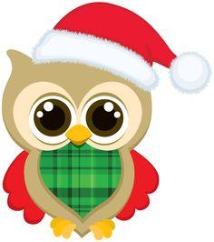 236x266 Cute Christmas Owl Clip Art