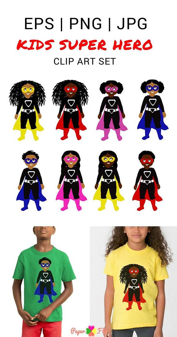 570x1086 African American Superhero Clipart Super Hero Clip Art Super Hero