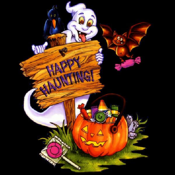 600x600 Halloween Cartoon Clip Art