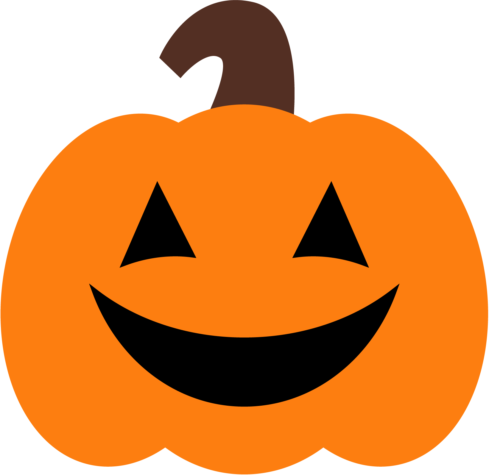1642x1596 Cute Halloween Pumpkin Clipart Cyberuse