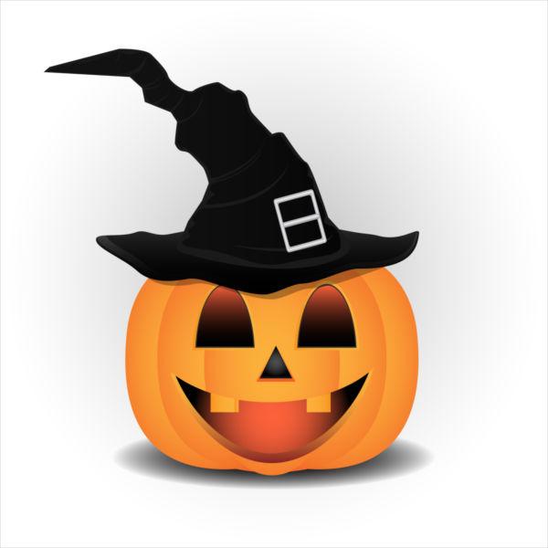 600x600 Halloween Pumpkin Clipart Free