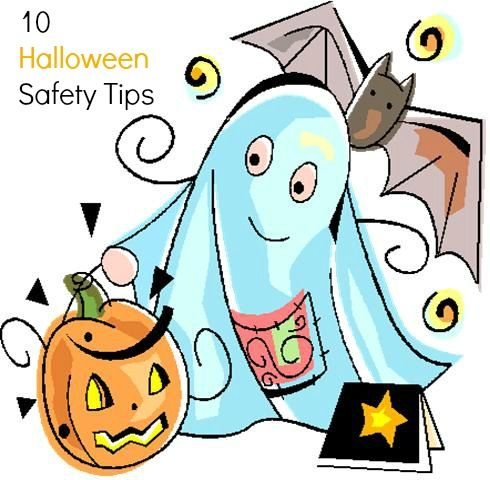 Halloween Safety Clipart