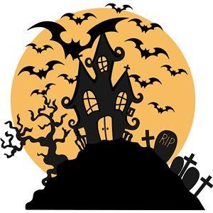 Halloween Scene Clipart
