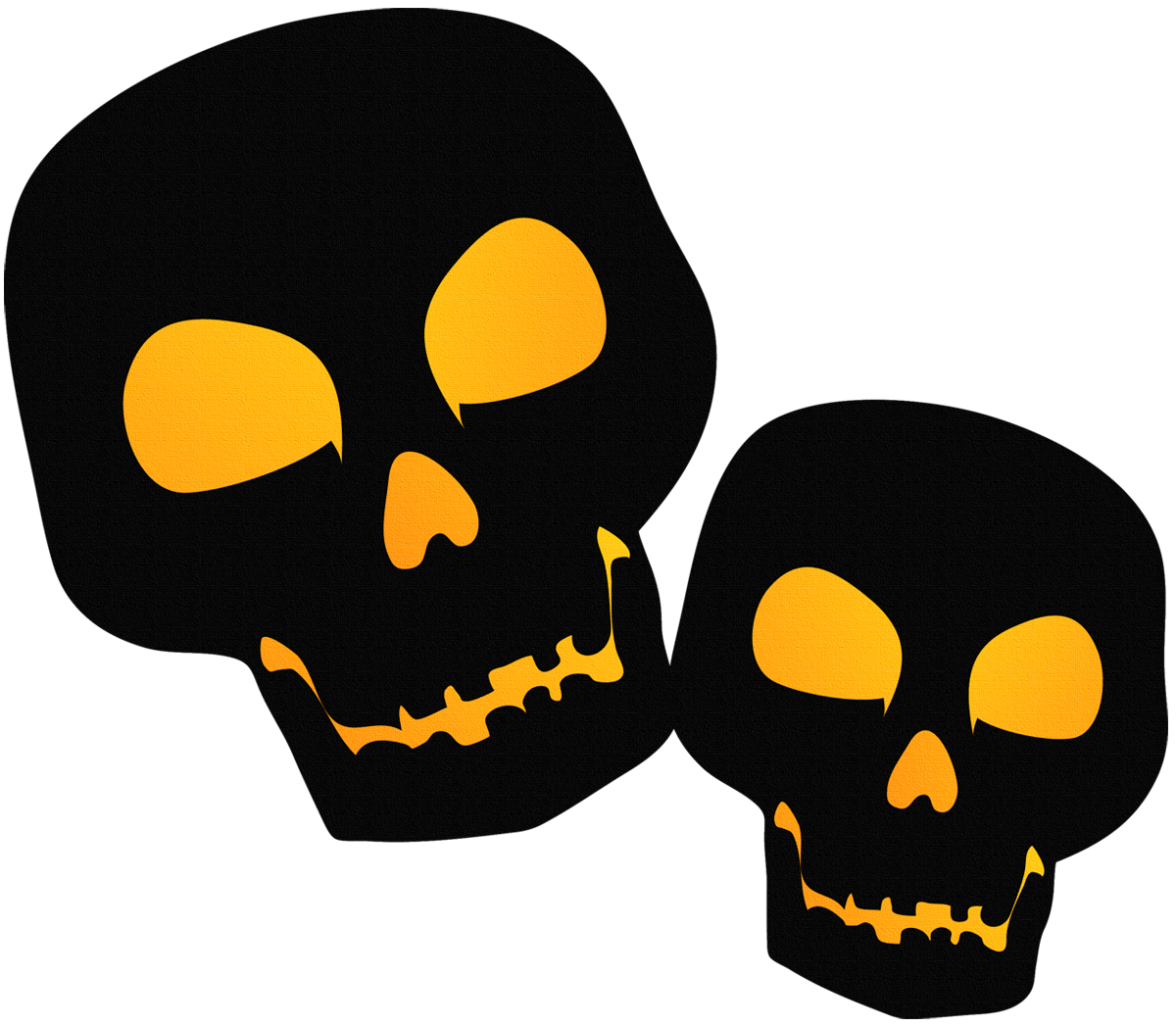 Halloween Skull Clipart at GetDrawings | Free download