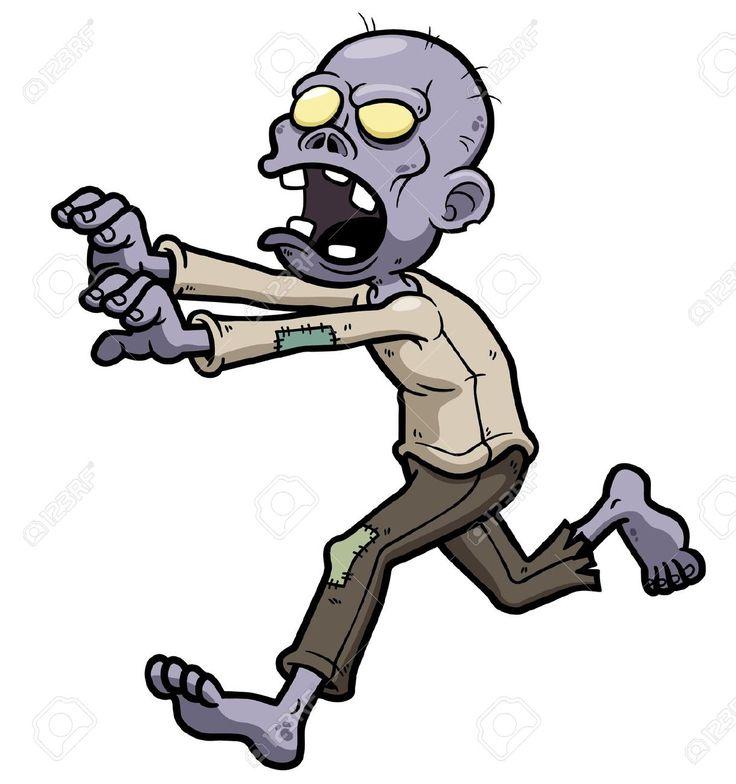 Halloween Zombie Clipart