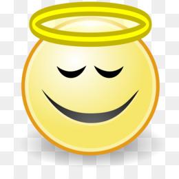 260x260 Smiley Emoticon Angel Face Clip Art