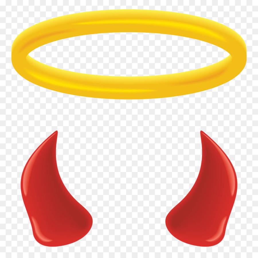 900x900 Angel Halo Devil Clip Art
