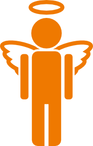 192x301 Angel Icon Clip Art