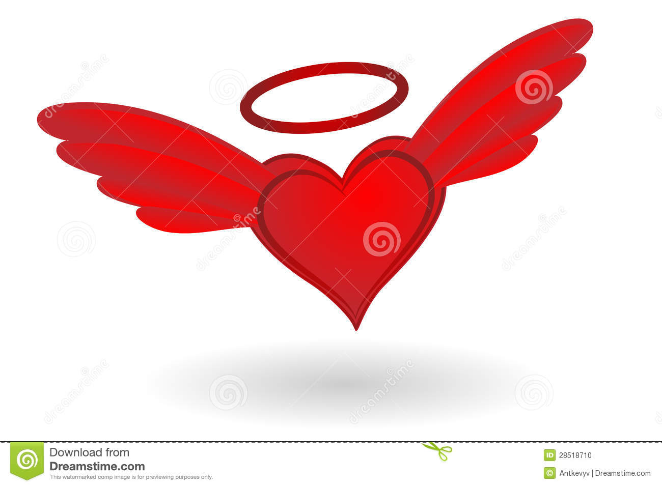 1300x957 Hearts With Halo Clipart