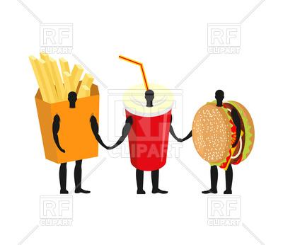 400x346 Fast Food Friends