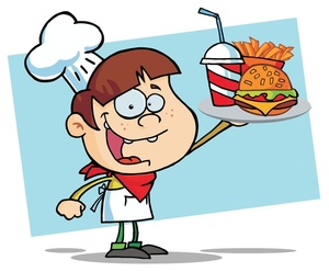 300x248 Free Burger And Fries Clipart Image 0521 1004 0716 1807 Computer